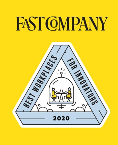 Logo for Fast Company-pris