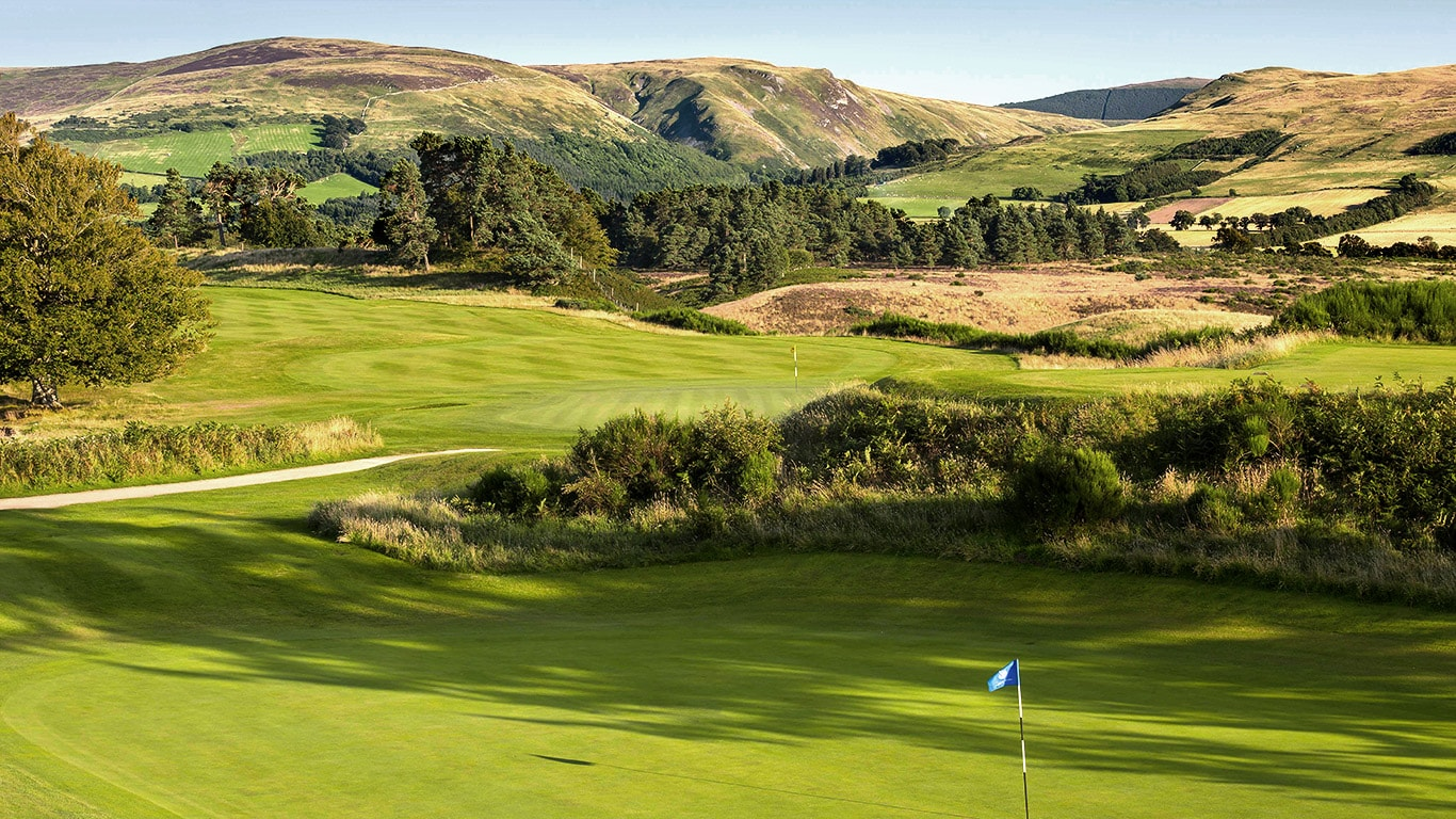 Golf Gleneagles Europa UK